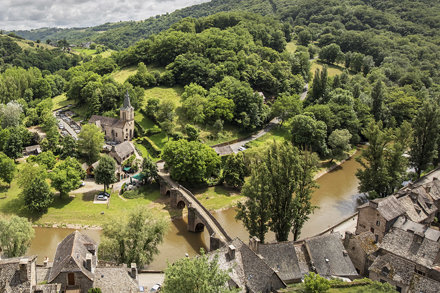Village of Belcastel, Aveyron