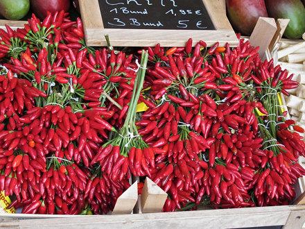 Farmers market (chilli)