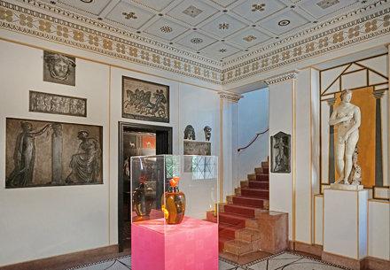 Le vestibule de la villa Stuck (Munich)