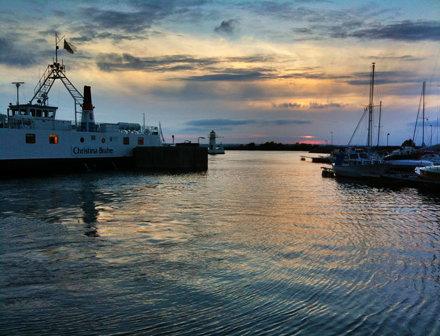 Gränna harbour…