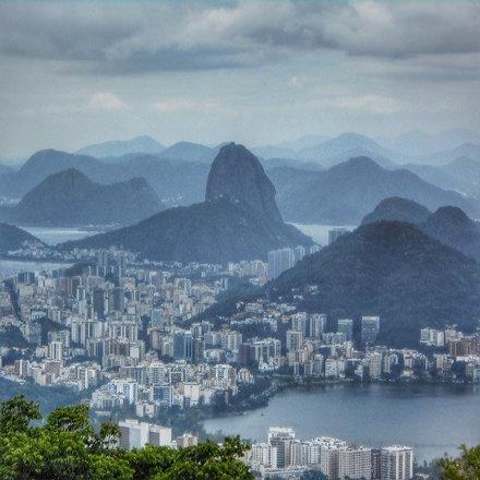Rio landscape.