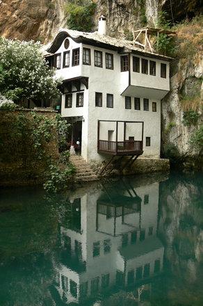 Dervish monastery by Vrelo Bune