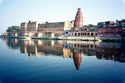 Ghats of Yamuna River