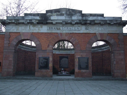 Execution Gate (Brama Straceń) at Warsaw Citadel