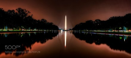 Reflecting Pool Panorama