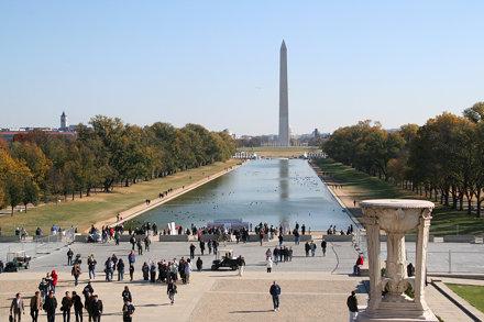 Washington Monument From Lincoln Memorial 11 Nov 2008 (1)