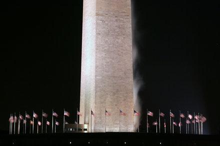 Washington Monument @ Night 20 Dec 2007 003