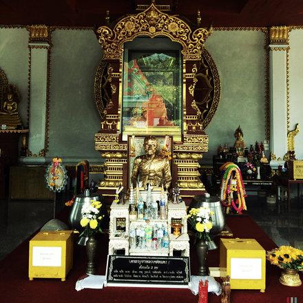 Mummified Buddha, Ko Samui