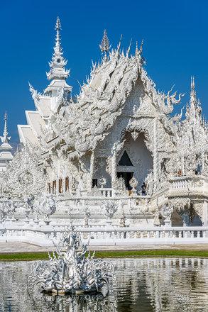 Wat Rong Khun in Chiang Rai Thailand