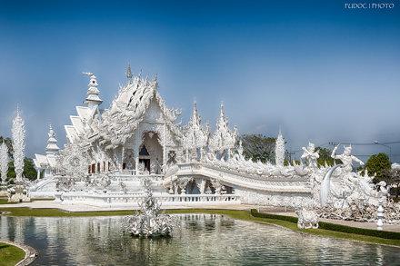 白廟 Wat Rong Khun