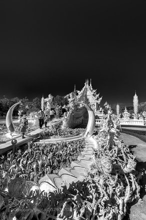 HDR Wat Rong Khun Thailand