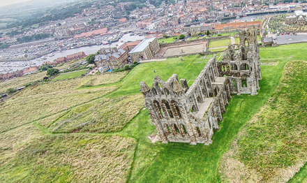 Phantom II Drone - Whitby Abbey