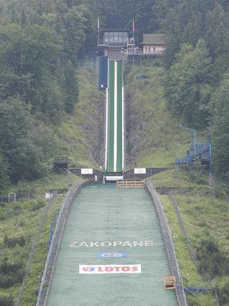 Zakopane's ski jump