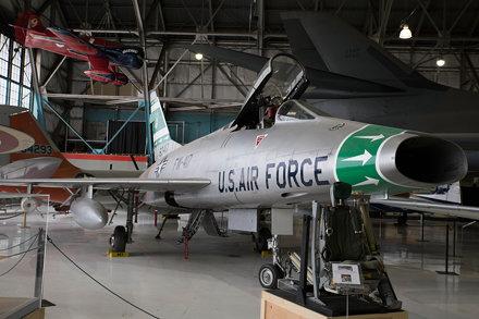 North American F-100D Super Sabre 56-3417