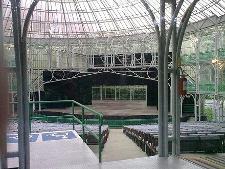Dentro da Ópera de Arame