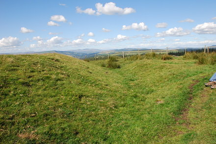 Buarth y Gaer Hill Fort