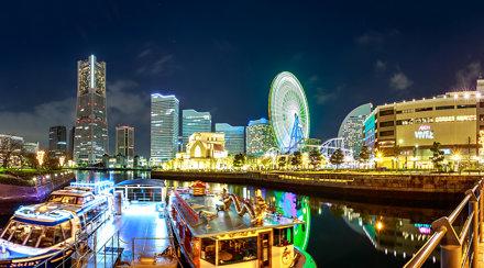 Yokohama 大岡川 夜色