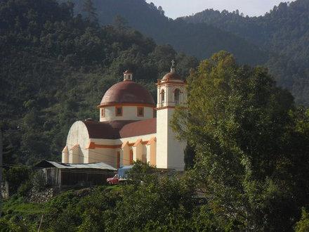 templo en la sierra....  san miguel peras #Oaxaca #SierraMadreDelSur #Pueblos