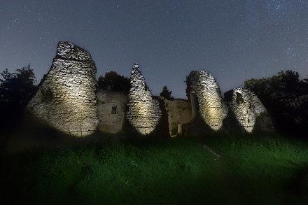 Bydlin Castle Ruins