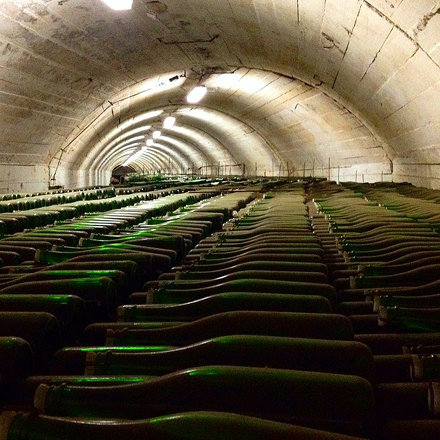 Подвалы шампанских вин князя Голицына