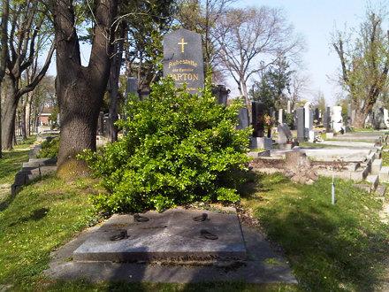 Parton Grave