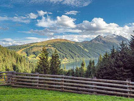 Durlaßboden Stausee - An der Grenze von Tirol und Salzburg - AT