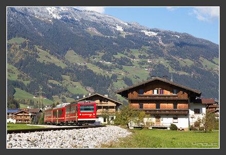 Zillertalbahn, Ramsau,21.10.2011