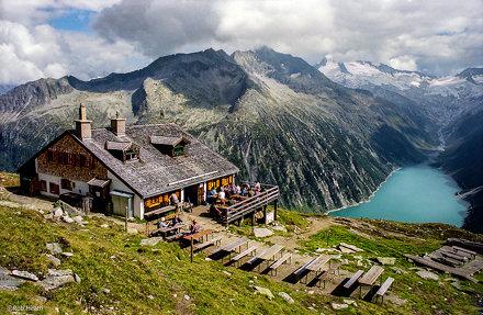 Zillertal Alps near Mayrhofen