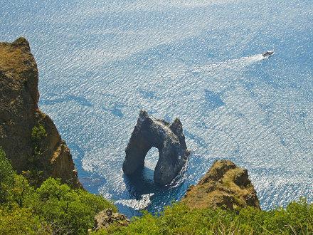 Golden Gate Rock, Kara Dag