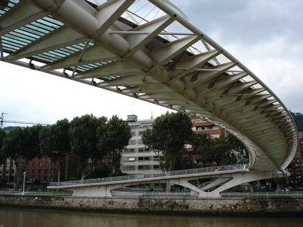 Calatrava - Volantin Footbridge - Bilbao, Spain