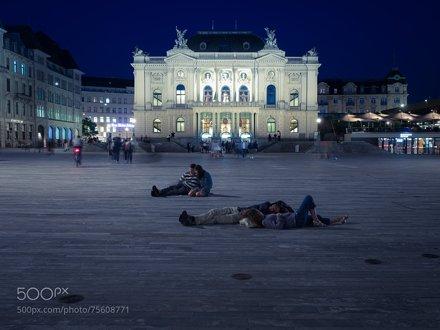 Blue Night @Zurich